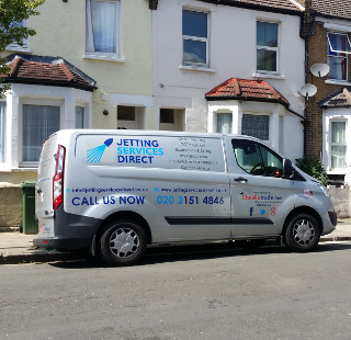 Drain cleaning for blocked drain at Balgowan Street, Plumstead, Woolwich SE18